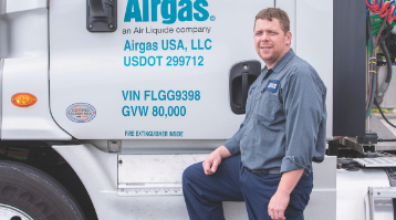 Link to brochure about why Airgas is a great place for drivers to work.