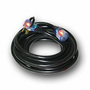Direct™ Wire & Cable 25' 300 V 8/3 AWG SJTW Vinyl Black Flexible Heavy Duty Extension Cord With Lighted End