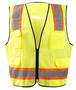 Radnor® Small/Medium Yellow Polyester/Tricot Type R Vest