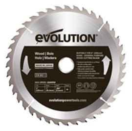 "Evolution® 9"" X 1"" 40TPI Wood Cutting Blade, 3000 RPM | Tuggl"