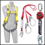 3M™ DBI-SALA® 1101411 ExoFit™ Full Body Style Harness With Back, Side And Front D-Ring And Quick Connect Buckle