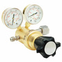 Harris® Model 8700-1500-580 High Pressure Low Volume Argon, Helium And Nitrogen Brass Single Stage Regulator, CGA-580