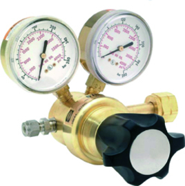 Harris® Model 8700 High Pressure Argon Helium Nitrogen Single Stage Regulator CGA580