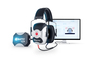 Howard Leight VeriPRO® Earplug Fit Testing System With Audiometrically Optimized Headphones And PC Software