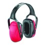 Honeywell Howard Leight Mach™ 1 Red Over-The-Head Earmuffs