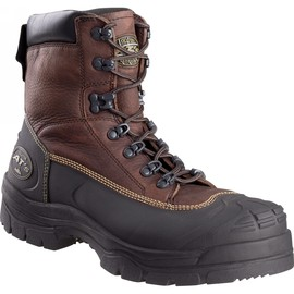 Honeywell Size 10 Brown Oliver 65 Series Leather Steel Toe Safety Boot With Polyurethane Midsole/Rubber Outsole