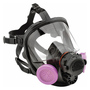 Honeywell Small 7600 Series Full Face Silicone Air Purifying Respirator (Availability restrictions apply.)