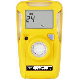 BW Technologies by Honeywell Yellow BW Clip™ Portable Oxygen Monitor