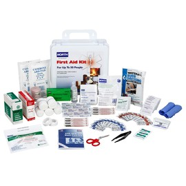 Honeywell White Plastic Portable 50 Person First Aid Kit