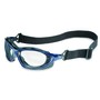 Honeywell Uvex Seismic® Blue Safety Glasses With Clear Anti Fog HydroShield® Lens