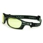 Honeywell Uvex Livewire™ Matte Black Safety Glasses With Low-IR HydroShield® Anti-Fog Lens