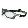 Honeywell Uvex Livewire® Silver Safety Glasses With Clear Anti Fog HydroShield® Lens