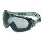Honeywell Uvex Stealth® OTG Indirect Vent Chemical Splash Impact Over The Glasses Goggles With Blue Soft Frame And Gray HydroShield® Anti Fog Lens And Neoprene Headband (Lead time for this product may be longer than normal.)