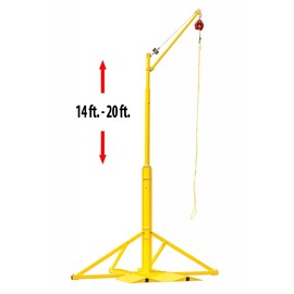 Honeywell Miller SkyORB 20' Steel Overhead Rotational Boom Anchor on white background