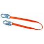 Miller® Titan™ 3' Polyester Positioning Lanyard With Locking Snap Hook Harness Connector