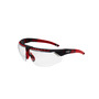 Honeywell Uvex Avatar™ Red Safety Glasses With Clear Anti-Fog Lens (Lead time for this product may be longer than normal.)