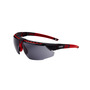Honeywell Uvex Avatar™ Red Safety Glasses With Gray Polycarbonate Lens