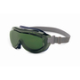 Honeywell Uvex Flex Seal® Indirect Vent Over The Glasses Goggles With Blue Low Profile Frame And Shade 5 Uvextreme® Anti-Fog Lens