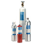 Industrial Scientific Cylinder, Calibration Gas, 25 PPM H2S, 100 PPM CO, 25 LEL Pentane