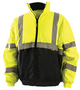 OccuNomix Medium Hi-Viz Yellow 300D Oxford Polyester Bomber Jacket