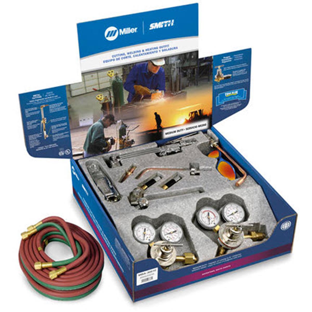Smith Miller 239-193 Air//Acetylene Kit for Brazing Soldering