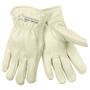 Memphis Glove Medium Pearl Premium Cowhide Unlined Drivers Gloves With Rolled Leather Hem