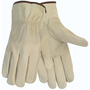 Memphis Glove Medium Natural Competitive Value Cowhide Unlined Drivers Gloves