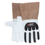 MCR Safety® Medium MCR Safety® Premium Grain Goatskin Dupont™ Kevlar® Lined And Sewn Welders Cut Resistant Gloves