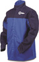 Miller® Large Blue 9 Ounce Indura® Cotton Flame Resistant Jacket With Snap Closure