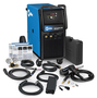 Miller® Syncrowave® 210 Auto-Line™ TIG Welder, 120/240 Volt With 10' Power Cord, Weldcraft™ A-150 TIG Torch, Spoolmate™ 100 Spool Gun, 4 - 14 Pin Connector And Flow Gauge Regulator And Hose