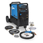 Miller® Millermatic® 255 MIG Welder, 208 - 575 Volt 230 Amps At 25.5 Volt 60%,  200 Amps At 28 Volt 60%, 230 VAC  At 25.5 V 60% Duty Cycle, 275 VAC At 21 V- 60% Duty Cycle 350 Single Phase 180 lb With EZ-Latch™ Running Gear