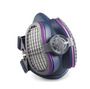 Miller® Medium/Large LPR-100™ Half Face Air Purifying Respirator With 2 P100 Filters (Availability restrictions apply.)