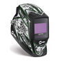 Miller® Digital Elite™ Raptor™ Green/Black/White Welding Helmet Variable Shades 3, 5 - 13 Auto Darkening Lens