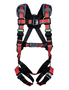 MSA X-Large EVOTECH® Full Body Style Harness With Qwik-Connect Chest Strap Buckle, Tongue Leg Strap Buckle, Back, Hip And Chest D-Ring And Shoulder Padding