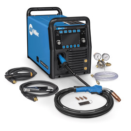 Miller® Multimatic® 255 MIG Welder, 208 - 575 Volts 230 Amps At 25.5 Volts, 60% Duty Cycle/200 Amps At 28 Volts, 60% Duty Cycle/275 Amps At 21 Volts, 60% Duty Cycle 350 Single Phase 84 lb