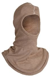 National Safety Apparel® One Size Fits Most Brown PBI Knit Flame Resistant Balaclava