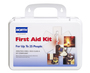 North® by Honeywell White Plastic Portable 25 Person First Aid Kit