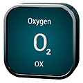 Stylized icon for Oxygen