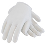 PIP® Medium White Cabaret™ Light Weight Cotton Inspection Gloves With Open Cuff