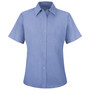 Red Kap® X-Large Light Blue 4.25 Ounce Polester/Cotton Work Shirt With Gripper Closure