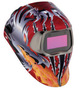 3M™ Speedglas™ 100V Red, Black, Silver And Yellow Welding Helmet With Variable Shades 8 - 12 Auto Darkening Lens And Razor Dragon Graphics