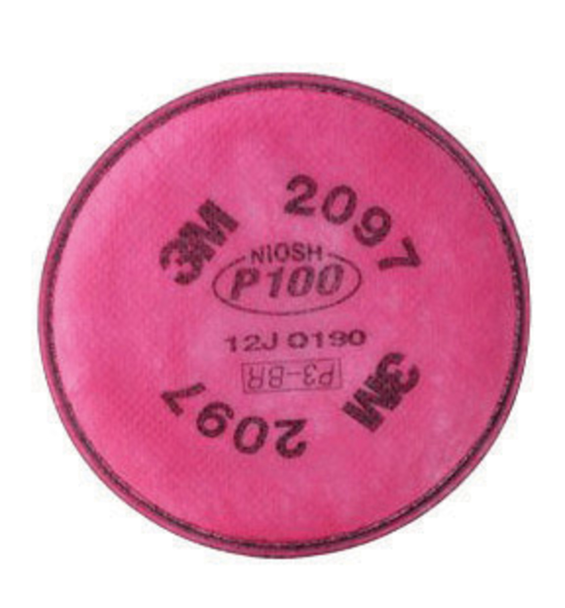 3M™ 2097 P100 Particulate Filter With Nuisance Level Acid Gas Relief