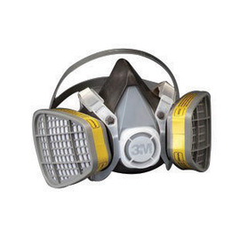 3M™ Large 5000 Series Half Face Disposable Air Purifying Respirator (Availability restrictions apply.)