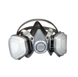 3M™ Large 5000 Series Half Face Disposable Air Purifying Respirator