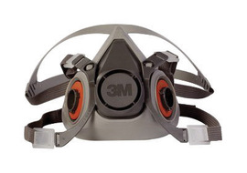 3M™ Medium 6000 Series Half Face Air Purifying Respirator (Availability restrictions apply.)