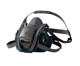 3M™ Medium 6500 Series Half Face Rugged Comfort Reusable Air Purifying Respirator With 4 Point Harness