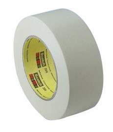"3M™ 2"" X 60 yd Tan Scotch® 234 5.9 mil Crepe Paper General Purpose Masking Tape | Tuggl"