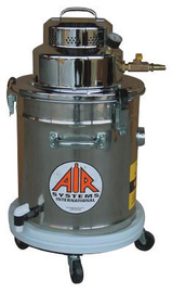 Air Systems International Air Systems 5 gal Capacity 100 - 170 CFM Pneumatic Powered HEPA Vacuum System With Wand