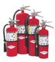 Amerex® 20 Pound Stored Pressure ABC Dry Chemical 10A:120B:C Multi-Purpose Fire Extinguisher For Class A, B And C Fires With Chrome Plated Corrosion Resistant Brass Valve, Wall Bracket, Hose And Nozzle