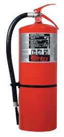 ANSUL® SENTRY® AA20-1 20 Pound Stored Pressure FORAY® Dry Chemical 10A:120B:C Hand Portable Fire Extinguisher For Class A, B And C Fires With Extruded Aluminum Valve, Wall Bracket And Steel Pick-Up Tube